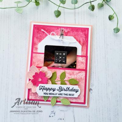 Pierced Blooms – Happy Birthday