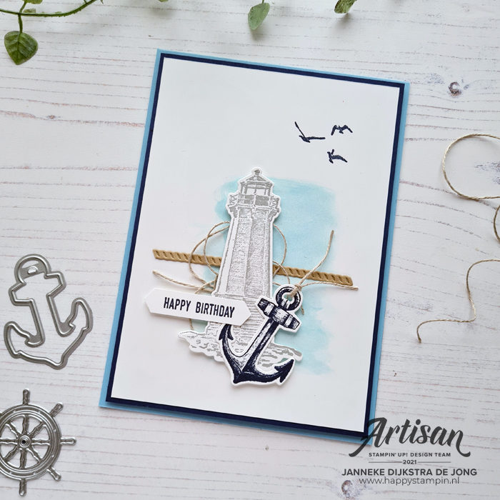 Stampin Up - Happy Stampin - Janneke Dijkstra - Sailing Home