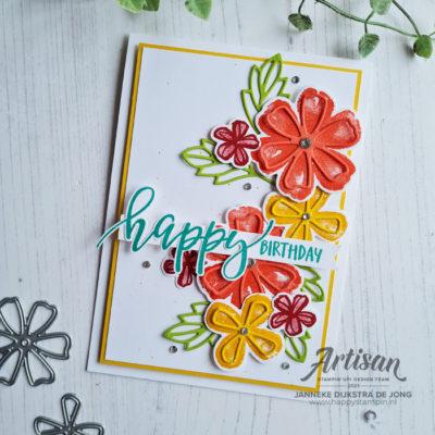 Pretty Perennials – Happy Birthday