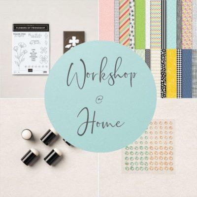 Flowers of Friendship – workshop @ home