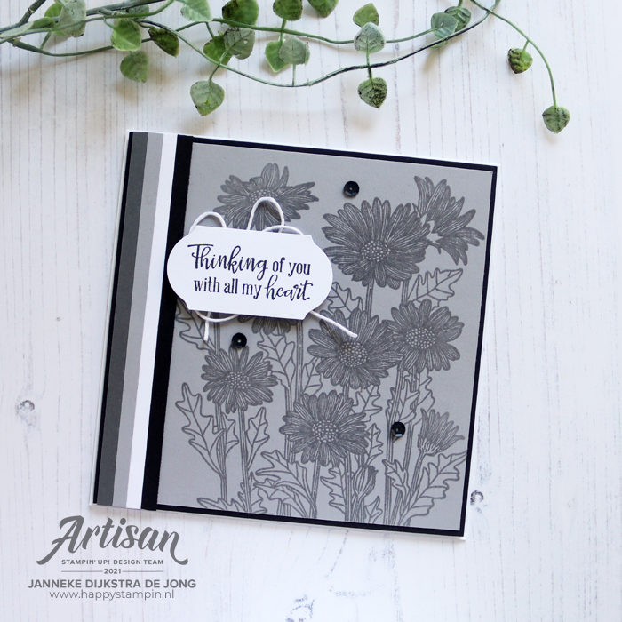 Stampin Up - Happy Stampin - Janneke Dijkstra - Daisy Garden