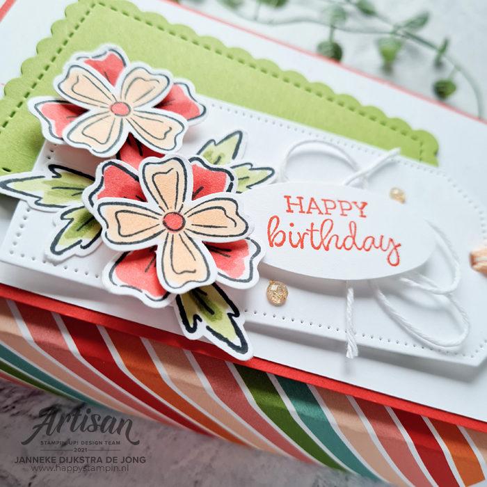 Stampin Up - Happy Stampin - Janneke Dijkstra - Flowers of Friendship