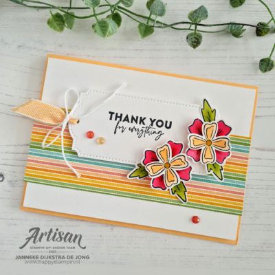 Flowers of Friendship – Thank you