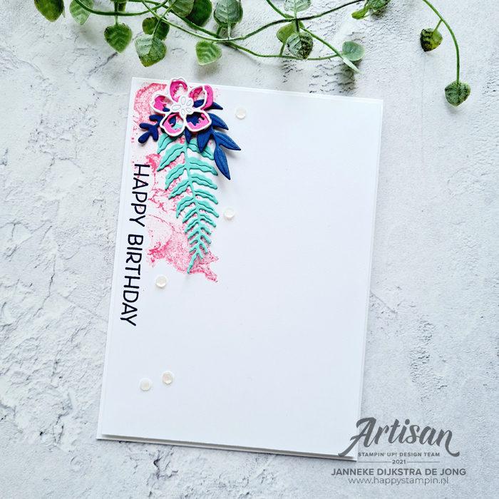 Stampin Up - Happy Stampin - Janneke Dijkstra - Artistically Inked