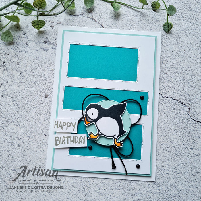 Stampin Up - Happy Stampin - Janneke Dijkstra - Party Puffins