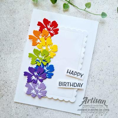 Penned Flowers Dies – Happy Birthday