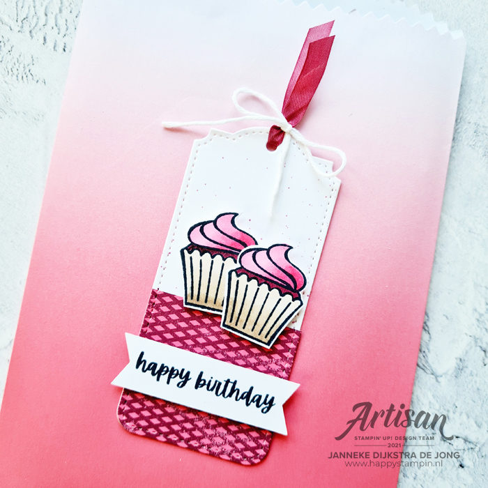 Stampin Up - Happy Stampin - Janneke Dijkstra - Sweets and Treats