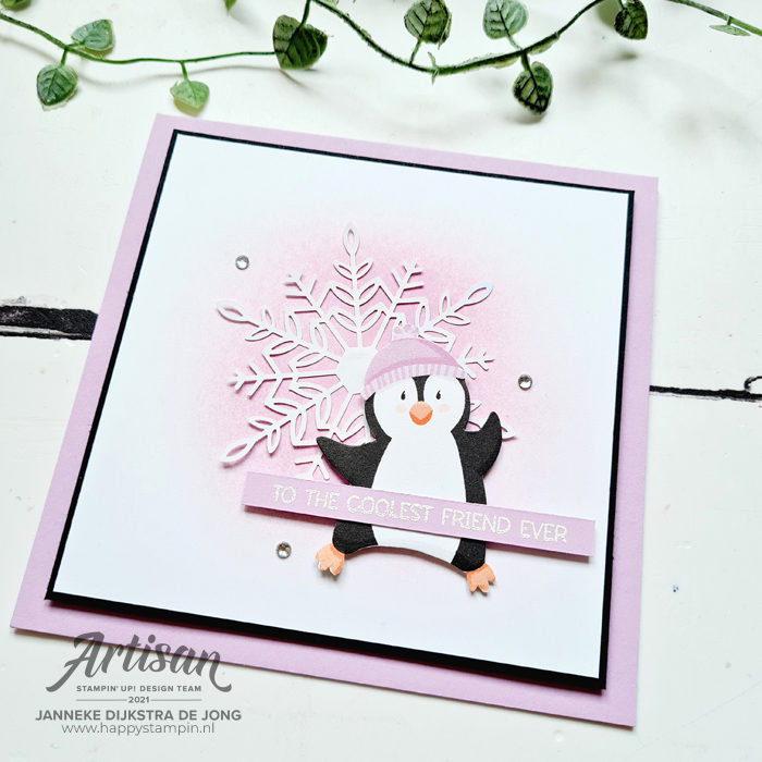Stampin Up - Happy Stampin - Janneke Dijkstra - Penguin Place