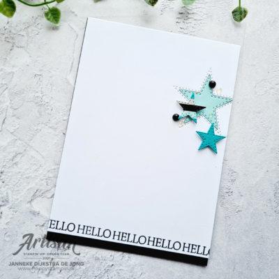 Stitched Stars – Hello