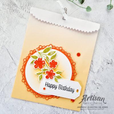 Sweet as a Peach – Happy Birthday