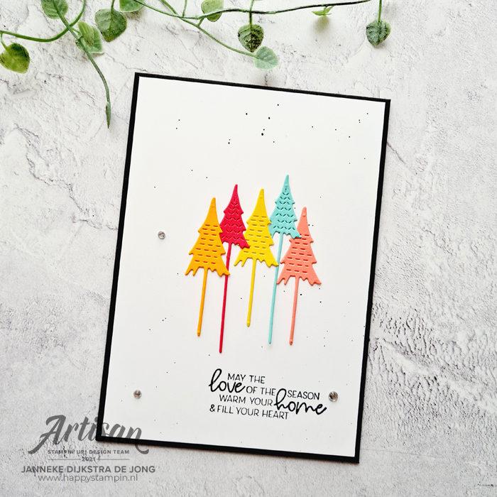 Stampin Up - Happy Stampin - Janneke Dijkstra - Whimsical Trees