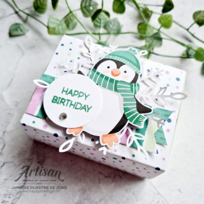 Penguin Playmates – Happy Birthday