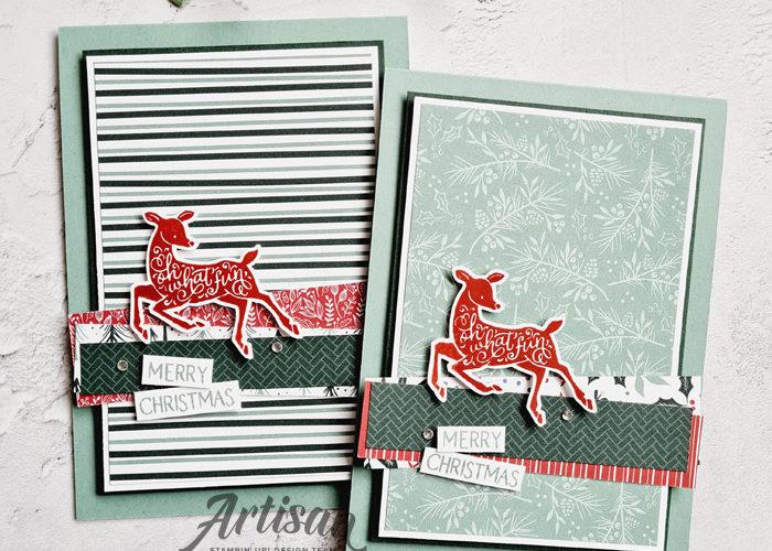 Stampin Up - Happy Stampin - Janneke Dijkstra - Peaceful Deer