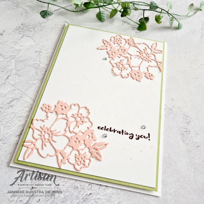Stampin Up - Happy Stampin - Janneke Dijkstra - Penned Flowers