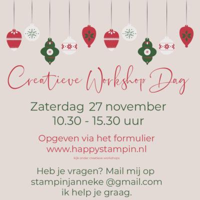 Stampin' Up! – Creatieve Workshop Dag